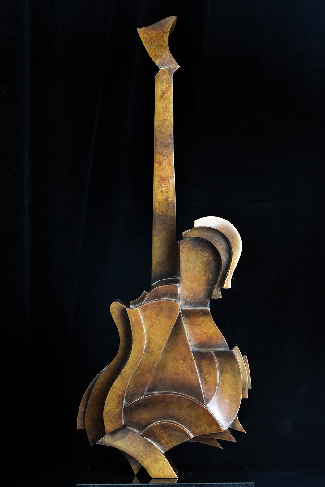 Acoustic Guitar by Andrew Thomas, from the Instrument series. Bronze