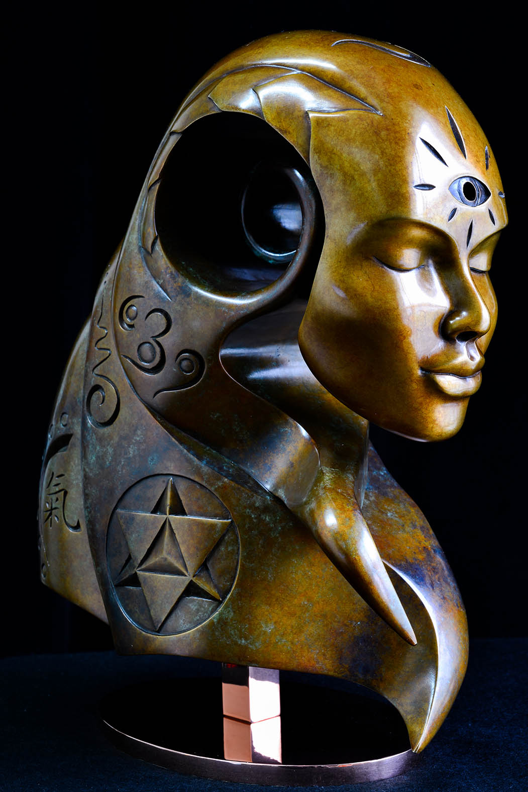 Akasha by Andrew Thomas, from the Transformation series. Bronze limited edition of nine