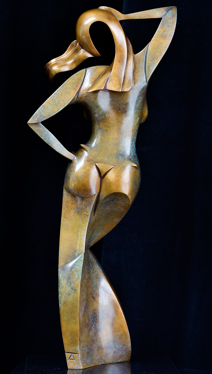 Ora by Andrew Thomas, from the Female series. Bronze